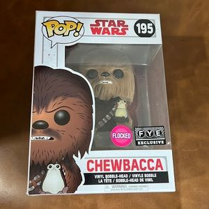 NWT FYE pop funko Star Wars Chewbacca flocked
